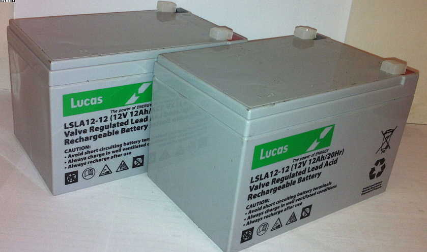 12Volt 12AH Pride New Shoprider Battery-Lucas Quality