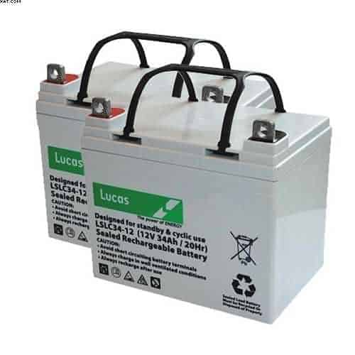 Days medical Mobility Battery 34 Ah from Lucas batteries