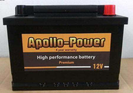 Nissan Micra Car Battery 063 Apollo Power Premium