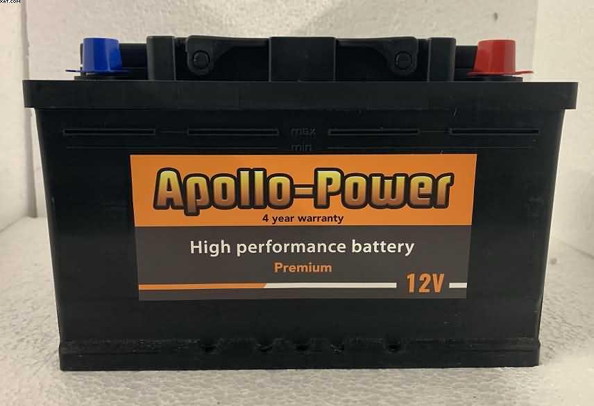 110 car battery 80 ah 800 cca sealed apollo power four. Black Bedroom Furniture Sets. Home Design Ideas