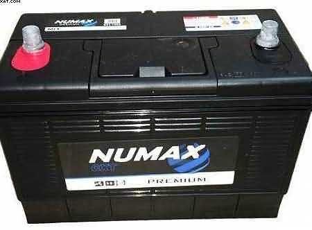 Swift Caravan Battery- BY NUMAX CXV 110AH twin post