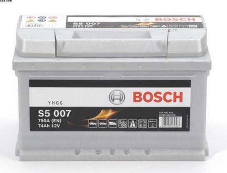 S5 007 Bosch Silver Calcium Car Van Uk 100 Battery